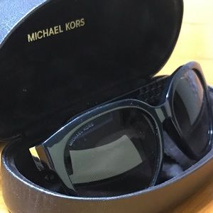 Michael Kors sunglasses with Rose Gold detail